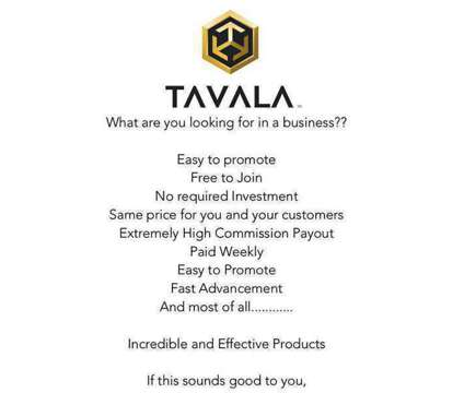FREE TO JOIN, why not have additional income promoting and posting a few times a is a Full Time Free to Join Why Not Have in Sales Job at Tavala in Dickinson ND