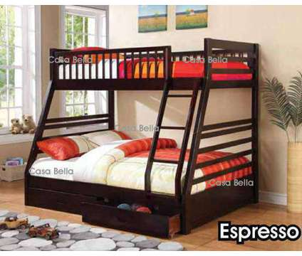 Wood Bunk Bed with Drawers, Mattress Included is a Bunk Beds for Sale in Chicago IL
