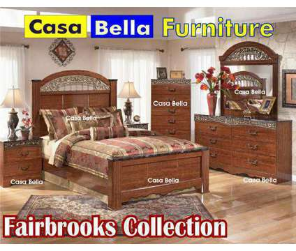 American Company Bedroom Set in 3 Colors is a Black Dresser & Vanities for Sale in Chicago IL