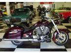 Midnight Cherry 2010 VICTORY CROSSROADS 106 CUBIC INCH ONLY 1,086 MILE