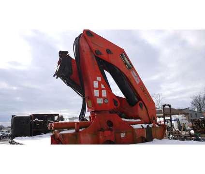 8752 - 1994 Fruehauf Flatbed Trailer; 1998 Palfinger Pk32080 Knuckleboom Crane is a 1998 Crane Truck in Hatfield PA