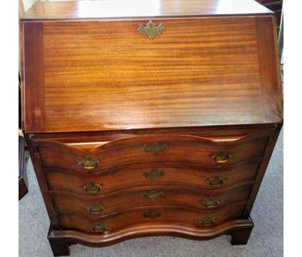 Solid mahogany antique secretary desk is a Desks for Sale in Henrico VA
