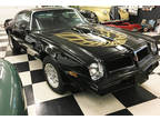 1976 Black Pontiac Trans Am