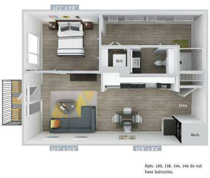 1 Bed - AVA Wheaton at 2425 Blueridge Ave in Wheaton MD is a Apartment