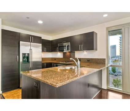 Downtown Corner Panoramic City View condo with 10X10 walk-in Closet at 800 The Mark Ln in San Diego CA is a Condo