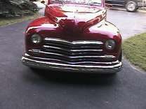 1947 Plymouth convertible street rod
