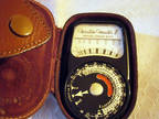 Vintage Weston Master II Light Meter, Made in England