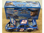 Rusty Wallace #2 1:24 Scale Die Cast Car - Last Race