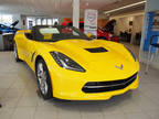 2017 Chevrolet Corvette Yellow