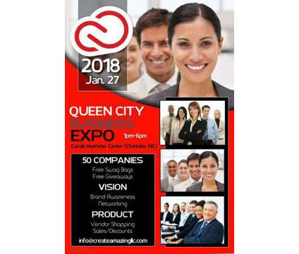Vendors Wanted: The Queen City Business Expo is a Wanteds listing in Charlotte NC