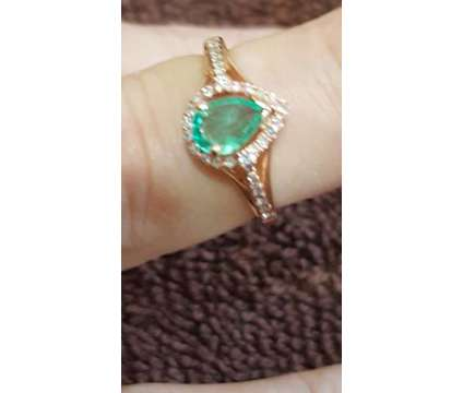 Muzo Emerald/Dia Ring is a Rings for Sale in San Jose CA