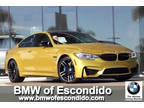 2015 M4 BMW 2dr Coupe Austin Yellow Metallic 3.00L
