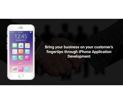 Bring your business on your customer's fingertips through iPhone Application is a Computer Setup & Repair service in Ahmedabad GJ
