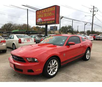 2010 Ford Mustang Leather Coupe is a 2010 Ford Mustang Coupe in Houston TX