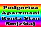 Rent an apartment in Podgorica, rent a flat for a day, night, week, month