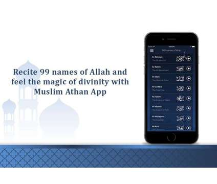 Recite 99 names of Allah and feel the magic of divinity is a Other Announcements listing in Ahmedabad GJ