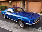 1968 Ford Mustang Fastback Automatic Blue