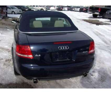 2008 Audi Convertible A4 Blue 92,000 miles is a Blue 2008 Audi A4 3.0 quattro Convertible in Hartford CT