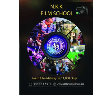 N.K.K Film School is a Auto & Other Vehicle Services service in Delhi DL