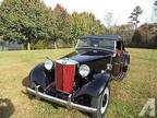 1952 Mg TD T Type T Series Mgtd Factory Black/Red All Numbers Correct