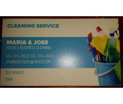Mj Cleaning Service is a Home Cleaning & Maid Services service in Des Moines IA