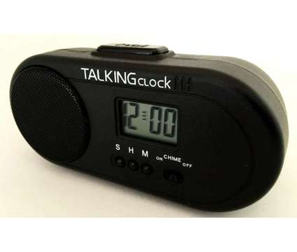 TALKING ENGLISH HUMAN VOICE SPEAKING Battery Power Snooze Alarm Clock VERY LOUD is a Home Decors for Sale in Hollywood CA