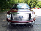 2010 F-150 Ford 4x4 FX4 4dr SuperCrew Styleside 6.5 ft. SB Vermillion Red Pickup