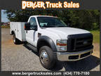2008 Ford F-550 Regular Cab 4WD DRW CHASSIS AND CAB