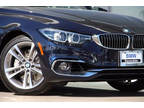 2018 4 Series BMW 440i Gran Coupe 4dr Sedan Imperial Blue Metallic 3.00L