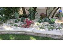 Pink and Green Landscaping Services