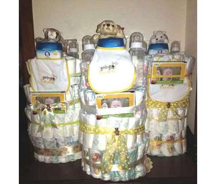 Khristella's Unique Creations Diaper Cakes is a Baby Grooming, Bathing, and Feedings for Sale in Port Arthur TX