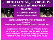 Khristella's Unique Creations Photography