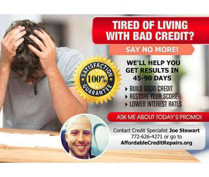 Affordable Credit Repair is a Financial Advisors service in Port Saint Lucie FL