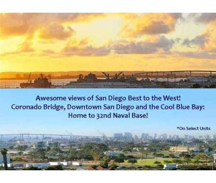 For lease 1250 single bedroom at 801 National City Blvd, San Diego Ca in San Diego CA is a Condo