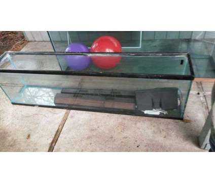 Aquarium 75 gallon with iron stand is a For Sale in Lacey WA