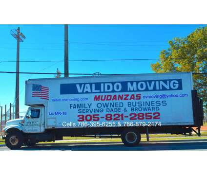 Valido Moving a Family Owned Moving Company Since 1969 is a Moving service in Hialeah FL