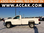 2017 Silverado 2500HD Chevrolet 4x4 Work Truck 2dr Regular Cab LB