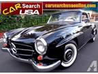 1962 Mercedes Benz Roadster Matching Number