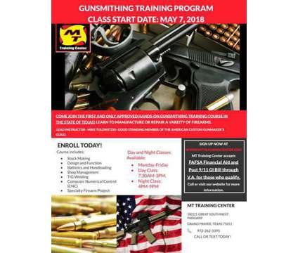 Gunsmith Training Class Veteran Approved Gunsmith Training Class