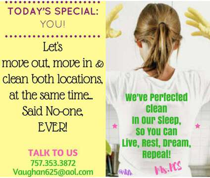 Perfected Clean is a Home Cleaning & Maid Services service in Norfolk VA
