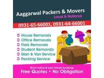 Aaggarwal Packers and Movers in Ludhiana - Fast and Friendly Services