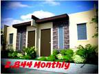 Bria Homes Sta. Maria Bulacan. 2, 844 Monthly Pag-ibig Rowhouse.
