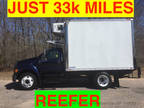 2004 Blue Ford F650 REEFER HUGE CARRIER TALL JUST 33k MILES