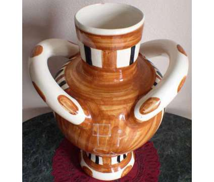 """Pablo Picasso 22"""" Vase by Padilla is a Artworks for Sale in Valparaiso FL"""