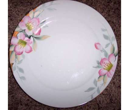 "4 Noritake Azalea 10"" Dinner Plates - Very good condition! - $30 (Louetta & N. E is a Used Antiques for Sale in Cypress TX"