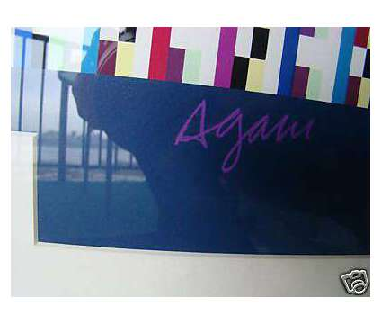 """Yaacov Agam """"Beyond the Visible"""" Kinetic Art Silkscreen - Signed Limit is a Artworks for Sale in Valparaiso FL"""