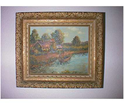 Set of 4 Oil on Wood Paintings signed G. Seidman from Holland very old is a Artworks for Sale in Valparaiso FL