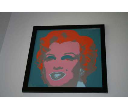 Marilyn Monroe Andy Warhol by Sunday B. Morning is a Artworks for Sale in Valparaiso FL