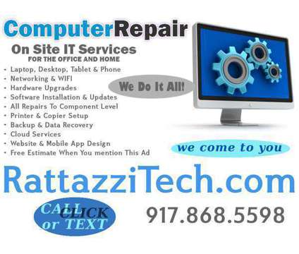 Computer & Electronics Repair - On Call - 24/7 - NYC is a Electronics Repair service in Manhattan NY
