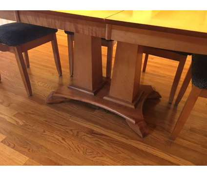 Solid Wood Contemporary Dining Set is a Tables & Stands for Sale in Dublin CA